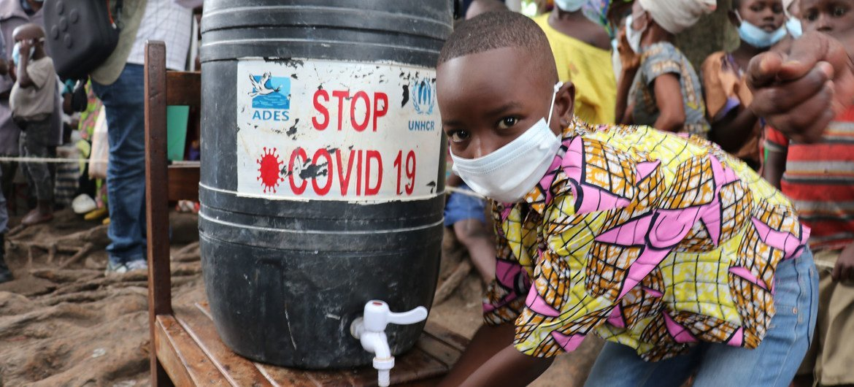 Covid-19 agravou situação para refugiados, como neste assentamento em Kivu Sul, na República Democrática do Congo