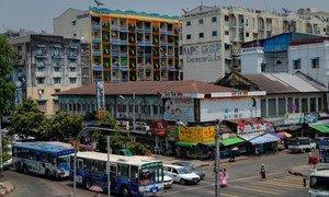 La ville de Yangon (photo d'archives).