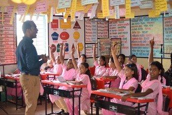 المعلم رانجيتسين ديسيل الحائز على جائزة المعلم العالمية لعام 2020 من الهند.