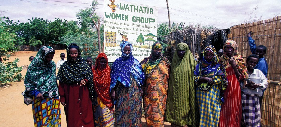 A women's group meets up in Kenya. (file)