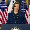 Вице-президент США Камала Харрис обратилась к делегатам 65-ой сессии Комиссии ООН по положению женщин.