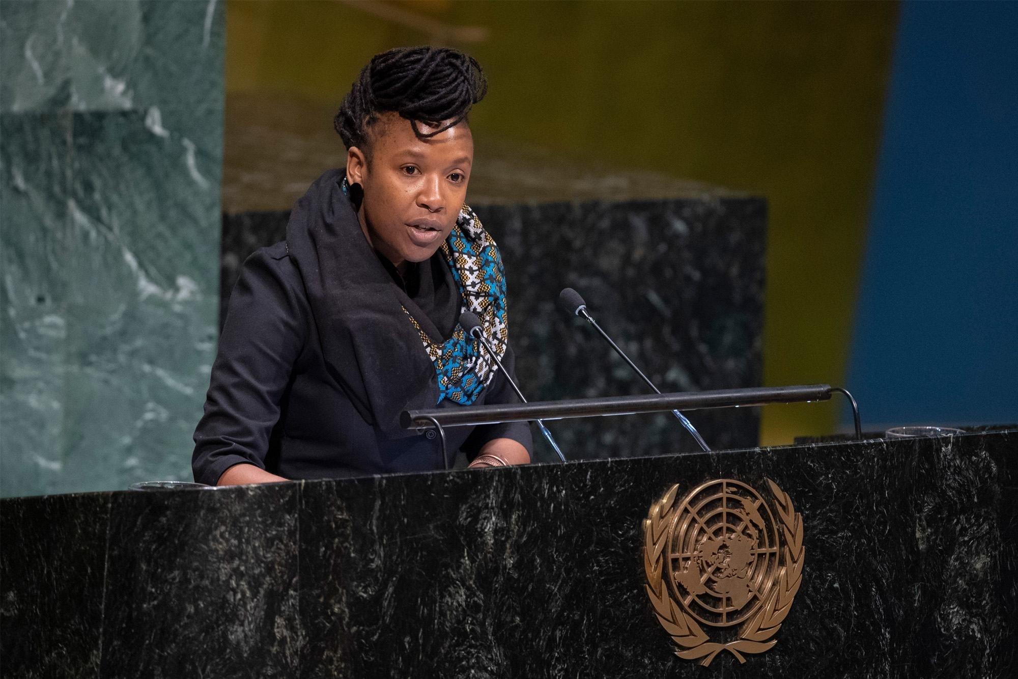 联合国当代形式种族主义、种族歧视、仇外心理和相关的不容忍现象问题特别报告员阿丘梅。