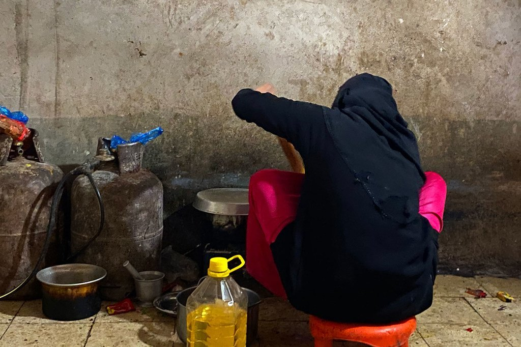 أجبرت الأعمال العدائية في شمال اليمن آلاف الأشخاص على الفرار إلى مأرب.