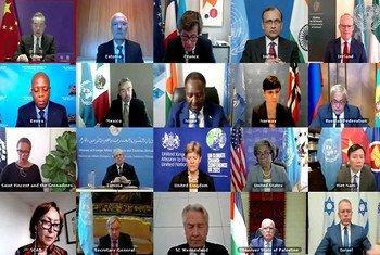 联合国安理会今天在周日举行线上公开会议,讨论近期日益严峻的巴以局势。