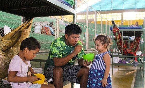 La OIM apoya a venezolanos y brasileños en las áreas afectadas por la crisis de coronavirus en Brasil