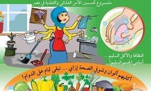 مشروع تحسين الأمن الغذائي والتغذية في مصر