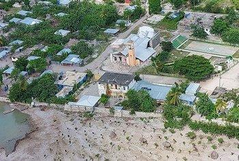 O epicentro do tremor de 7.2 na escala Richter atingiu o oeste do país no dia 14 de agosto e matou pelo menos 1,3 mil pessoas