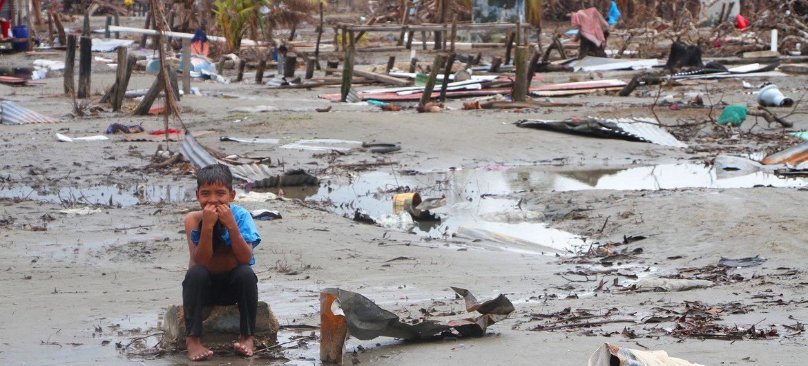 Communities in Nicaragua were devastated after Hurricane Iota hit the country in November 2020.