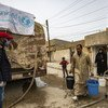 L'UNICEF continue de livrer de l'eau dans les zones de conflit en Syrie pendant la pandémie de Covid-19.