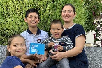 संयुक्त राष्ट्र ने उज़बेकिस्तान के एक परिवार से भविष्य को लेकर उनकी आशाओं व चिन्ताओं के बारे में जानना चाहा.