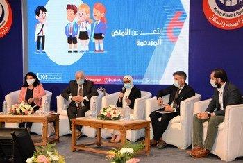 تدشين حملة إعادة فتح المدارس في مصر