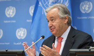 Генеральный секретарь ООН Антониу Гутерриш.