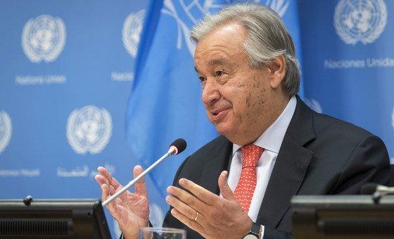 """António Guterres considera a crise climática como """"o desafio multilateral de nossa época"""""""