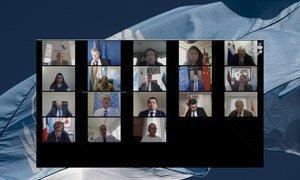 جلسة مجلس الأمن حول سوريا