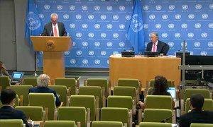 Secretário-Geral António Guterres pediu ação, trabalho e prosperidade defendendo a visão da Carta da ONU.