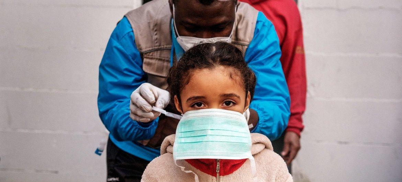 ONU frisa que mundo não estava preparadopara a crise de saúde.