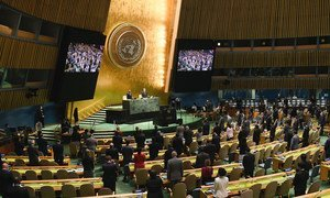Some world leaders will deliver speeches in the UN General Assembly hall in person, but it's expected the majority will not be travelling to New York.