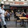 A Europa apresentou a segunda maior queda, com 85%