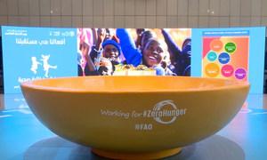 الاحتفال الذي أقيم في روما بمناسبة يوم الأغذية العالمي،