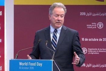 ديفيد بيزلي، المدير التنفيذي لبرنامج الأغذية العالمي