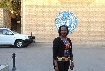 फ़िओना बेने, युगाण्डा की नागरिक हैं और इराक़ में UNAMI में सुरक्षा विभाग में कार्यरत हैं.