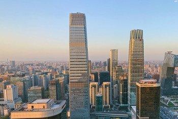 العاصمة الصينية، بيجين.