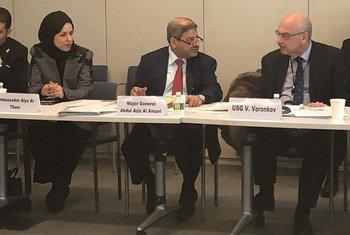 الحوار الاستراتيجي الثالث بين دولة قطر ومكتب الأمم المتحدة لمكافحة الإرهاب.