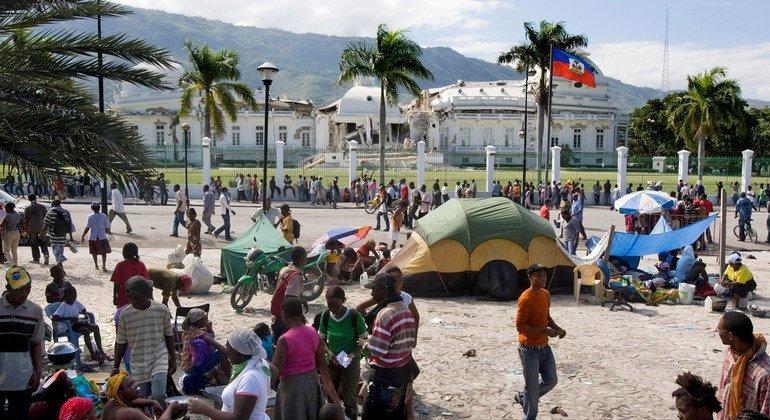Il y a 10 ans, Haïti...