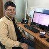 यूएनडीपी के भारत कार्यालय में कार्यक्रम अधिकारी सबा कलाम.