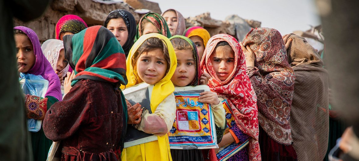 World must 'step up', match Pakistan's compassion for refugees, says UN chief | | UN News