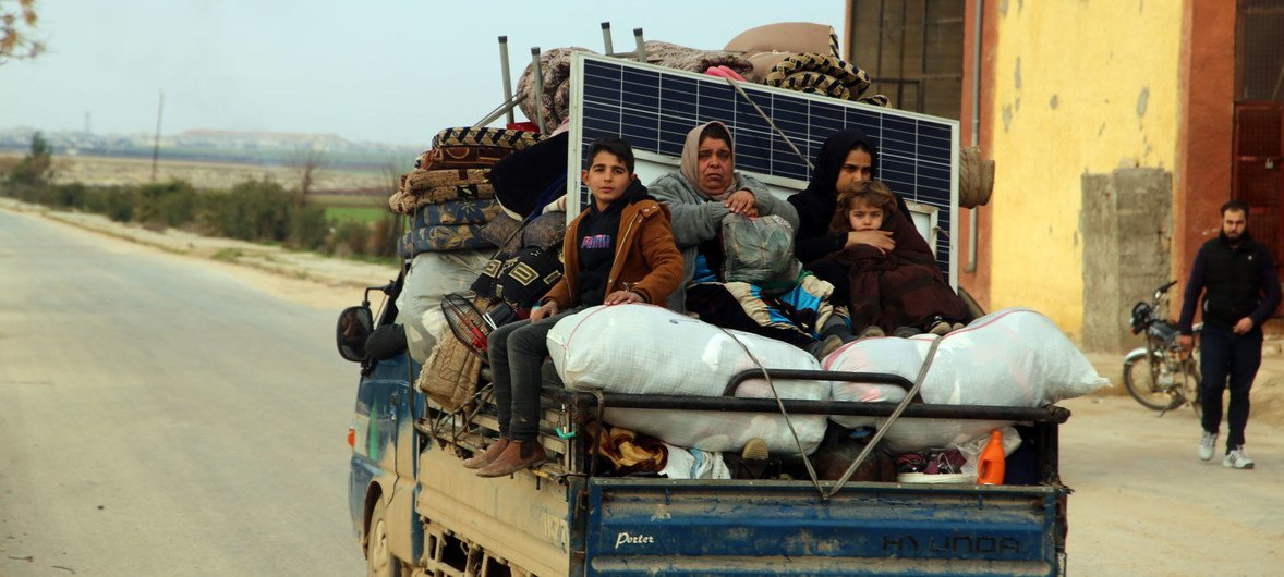 Amid 'horrifying' new level of violence in north-west Syria, UN relief chief says ceasefire is the only option