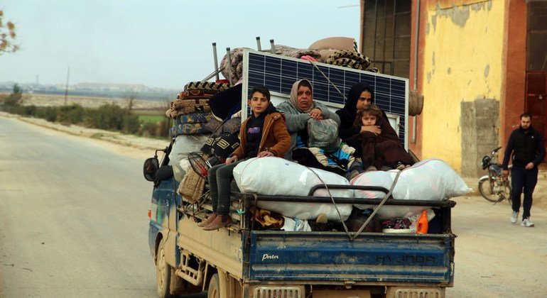 As north-west Syria violence reaches 'horrifying' new level, UN relief chief says ceasefire is only option