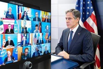 Le Secrétaire d'État américain, Antony J. Blinken.
