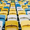Estádios em todo o mundo estão vazios devido à pandemia