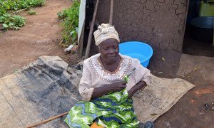 A refugee from the Democratic Republic of the Congo, now living in a refugee camp in Uganda, narrates her ordeal as a person living with a disability in a conflict area.