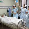 أحد المستشفيات في ووهان بالصين خلال ذروة الجائحة.