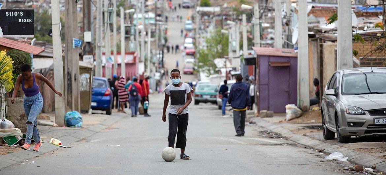 Joanesburgo,  África do Sul. Guterres disse que países de renda média precisam melhorar oacesso a tecnologias, pesquisa e inovação,