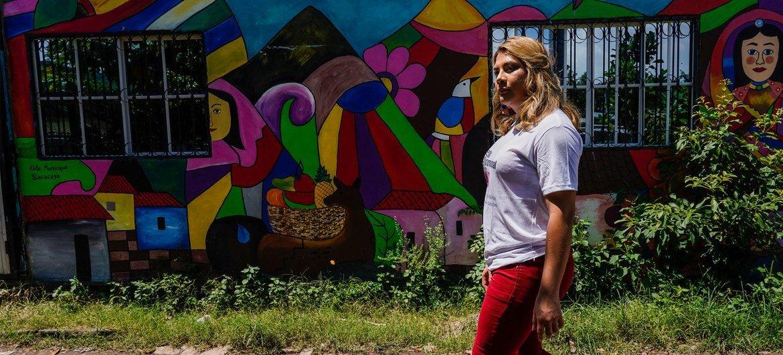 Le HCR a nommé Bianka Rodriguez, militante transgenre salvadorienne, comme sa première sympathisante transgenre