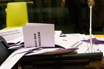 Les élections du Président de l'Assemblée générale des Nations Unies, des nouveaux membres du Conseil économique et social et du Conseil de sécurité ont eu lieu mercredi au siège de l'ONU à New York.