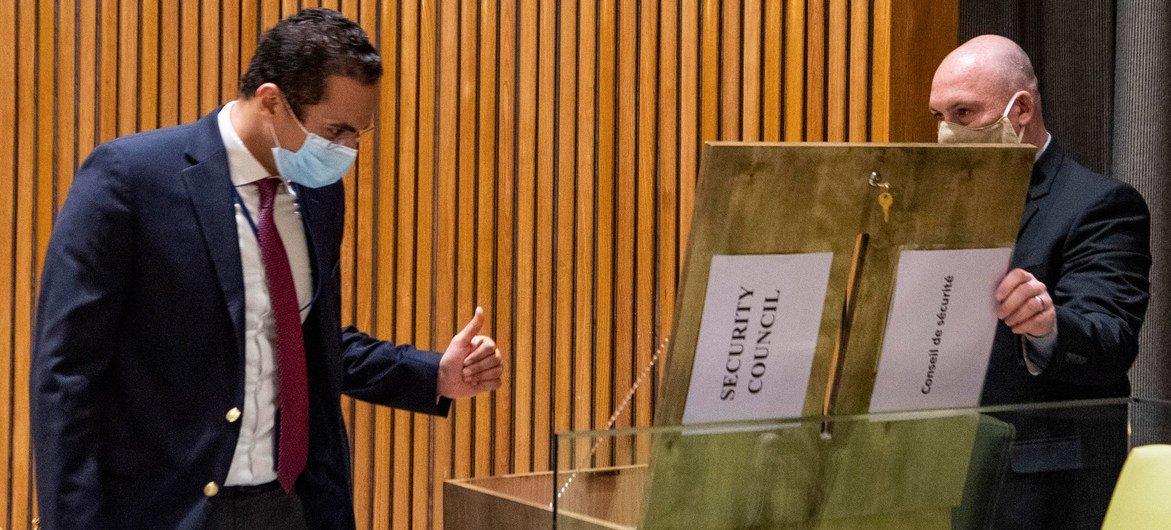 تصويت لاختيار خمسة أعضاء جدد لعوضية مجلس الأمن غير الدائمة