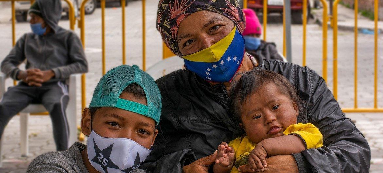 Mais de 5,6 milhões de venezuelanos deixaram seu país, a maioria deles para países da América Latina e Caribe