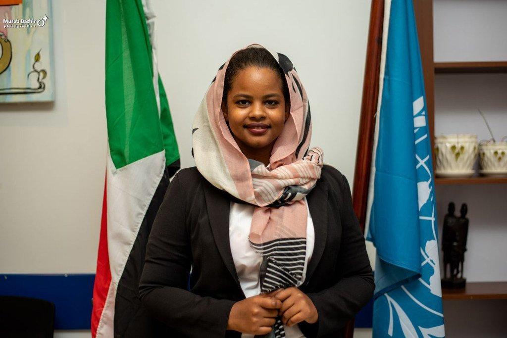نسرين الصائم، رئيسة مجموعة الأمين العام الاستشارية الشبابية المعنية بتغير المناخ.