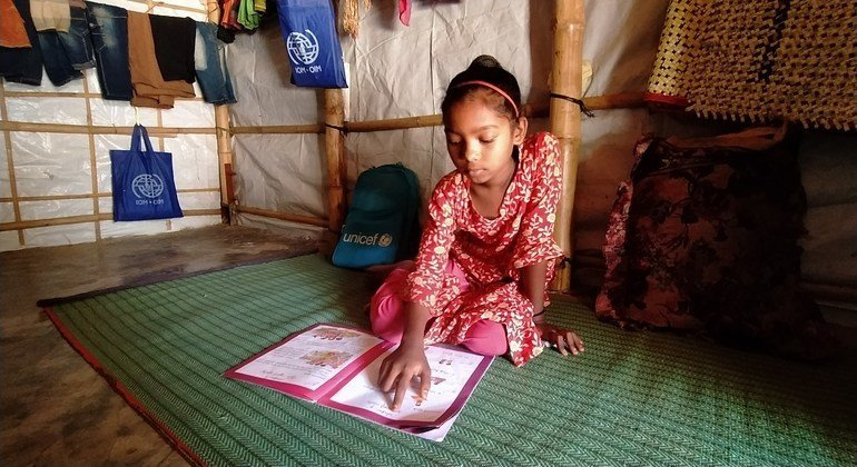 Beat back 'catastrophic effects' of COVID-19 on refugee education, urges UNHCR   1