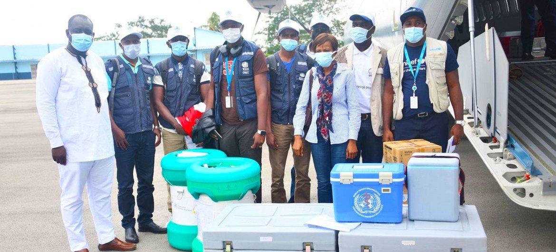 科特迪瓦已经为其一线工作人员发起了一场埃博拉疫苗接种运动。