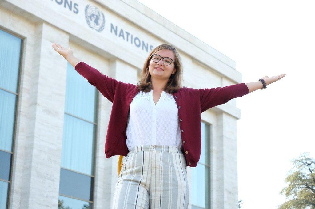 Marie-Claire Graf, 23 ans, est une activiste pour le climat, originaire de Bâle, en Suisse. Elle participera au Sommet des jeunes sur le climat au siège des Nations Unies à New York le 23 septembre 2019