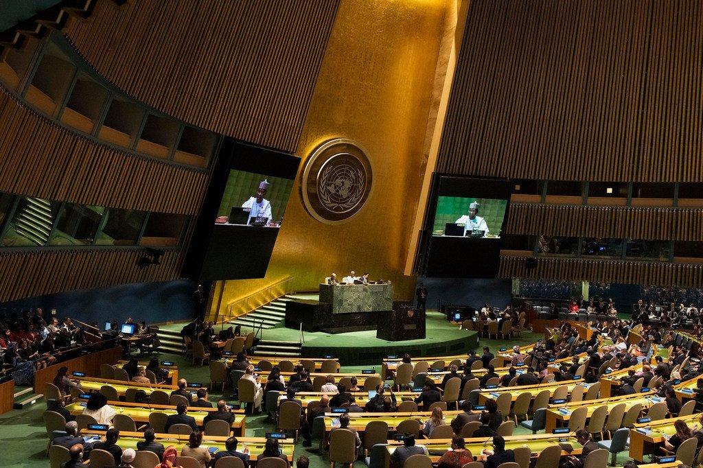 74e session de l'Assemblée générale des Nations Unies