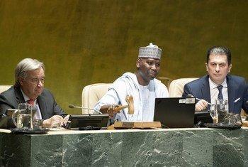 Abertura da 74ª sessão da Assembleia Geral das Nações Unidas.