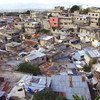 An informal settlement in Port-Au-Prince, Haiti.
