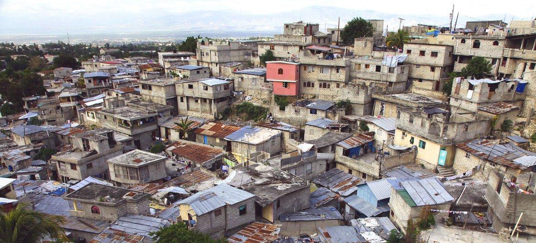 海地首都太子港的一个非正式定居点。