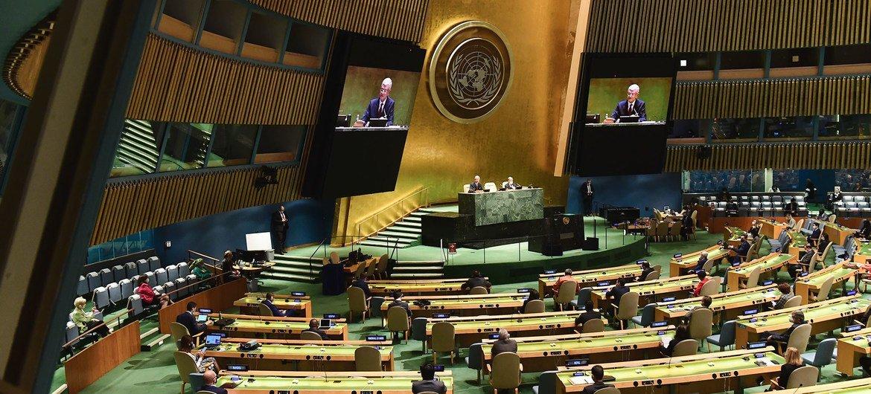 Photo : Assemblée générale de l'ONU
